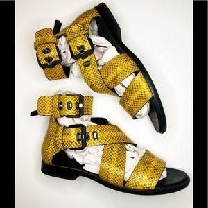 Snakeskin Madeira Sandal